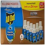 India Desire : Buy All Out Ultra Refill Saver (270ml, Pack of 6) at Rs. 312 from Amazon [Regular Price Rs 390]