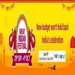 India Desire : Amazon Great Indian Festival Sale 29th September-4th October 2019: Upto 90% Off Deals + Extra 10% SBI Card Discount