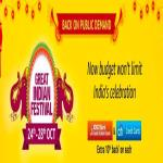 India Desire : Amazon Great Indian Festival Sale Offers 24th-28th October 2018: Diwali Mobile Deals + Extra CITI & ICICI Card Discount