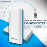 India Desire : Buy Ambrane P-1111 (10000 mAh) Power Bank with 2 USB Ports At Rs 629 From Infibeam