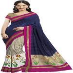 India Desire : Buy Ankita Fashion Multicolor Bhagalpuri Cotton Silk Saree With Blouse Piece at Rs. 99 from Amazon