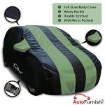 India Desire : Buy Autofurnish Stylish Green Stripe Car Body Cover for Hyundai i10 - Arc Blue at Rs. 200 from Amazon [Other Colours Price Rs 979]