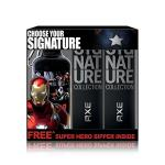 India Desire : Buy Axe Signature Perfume, 122ml (Pack of 2) with Free Captain America Sipper at Rs. 375 from Amazon [MRP Rs 500]