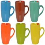 India Desire : Buy B37® Hand Made Multi-Coloured, Glossy Finish Ceramic Coffee Mugs, 250 ML. (Set of 6 Pcs.) at Rs. 199 from Amazon