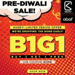 India Desire : Abof Pre Diwali Bogo Sale : Buy 1 Get 1 Free On Mens & Womens Clothing And Accessories