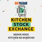 India Desire : Big Bazaar Kitchen Stock Exchange : Register & Get Rs 100 Off Coupon On Rs 1000 At Big Bazaar [7th To 8th April 2018]