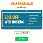 India Desire : Big Rock Half Price Sale - Get Flat 50% Off On All Web Hosting And Gsuite