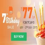 India Desire : Bigrock .Co 7th Birthday Sale: Buy .CO Domain At Rs 77 Only