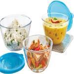 India Desire : Buy Borosil Borosilicate Glass Bowl Set(Clear, Blue, Pack of 3) at Rs. 856 from Flipkart [Regular Price Rs 1316]