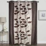 India Desire : Buy Homely Eyelet Leaves Polyester 7 ft Door Curtain -Brown at Rs. 99 from Amazon [Other Sellers Price @Rs 207]
