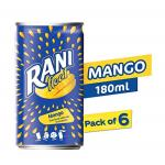 India Desire : Buy Rani Float - Mango - Can - Pack of 6 X 180 ml at Rs. 108 from Amazon [MRP Rs 210]