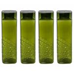 India Desire : Buy Steelo Emerald Pet Water Bottle 1000 ml, Set of 4, Olive Green at Rs. 167 from Amazon