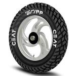 India Desire : Buy Ceat Gripp  90/100 - 10  53J Tube-Type Scooter Tyre, Rear at Rs. 993 from Amazon [MRP Rs 2219]