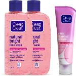 India Desire : Buy Clean & Clear Natural Bright Face Wash(280 ml) at Rs. 223 from Flipkart [Selling Price Rs 270]