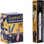 India Desire : Buy Control D Lancing Device & 100 Glucometer Lancets(100) at Rs. 149 from Flipkart