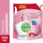 India Desire : Buy Dettol Skin Care pH-Balanced Hand Wash Pouch(1500 ml) at Rs. 155 from Flipkart [Regular Price Rs 177]