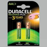 India Desire : Buy Duracell Recharge Plus AAA - 750 mAh Batteries -Pack of 2 at Rs. 179 from Amazon