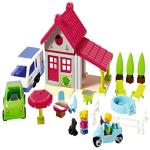 India Desire : Buy Ecoiffier Abrick Holiday House (52 X 38 X 27.5 cm), Multi Color at Rs. 570 from Amazon