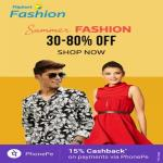 India Desire : Flipkart Fashion Weekend Sale: Upto 90% Off +15% Cashback Via PhonePe On Clothing, Footwear & Fashion Accessories [24th To 25th March]