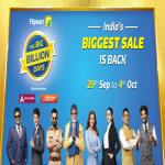India Desire : Flipkart Big Billion Days Sale 29th September-4th October Offers List: Upcoming 90% Off Festive Mobile Deals