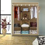 India Desire : Buy Flipkart SmartBuy 3 Door 8 Shelf PP Collapsible Wardrobe(Finish Color - Beige) at Rs. 1214 from Flipkart [Selling Price Rs 2199]