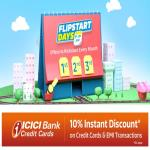India Desire : Flipkart Flipstart Days Sale: Upto 80% Off + Extra 10% Off Via ICICI Bank Cards On Fashion, Home & Kitchen Appliances [1st To 3rd June 2020]