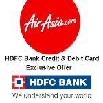 India Desire : Air Asia Flight Booking 20% Off Through HDFC Bank Credit/Debit Card