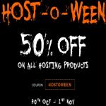 India Desire : Bigrock Host-O-Ween Sale: Get Flat 50% Off On All Hosting Products
