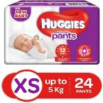 India Desire : Buy Huggies Wonder Pants Diaper - XS (24 Pieces) at Rs. 99 from Flipkart [Regular Price Rs 159]