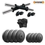 India Desire : Buy Kore K-DM-14kg-Combo 6 Dumbbells Kit at Rs. 614 from Amazon [Regular Price Rs 1200]