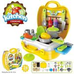 India Desire : Buy Lalli Sales Ultimate Kid Chef's Bring Along Kitchen Pretend Play Toys Suitcase Set (Yellow) at Rs. 449 from Amazon [Regular Price Rs 999]