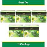 India Desire : Buy Lemor Green Tea (5 pack of 25 Tea Bag) at Rs. 319 from Amazon [Regular Price Rs 445]