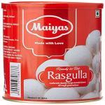 India Desire : Buy Maiyas Rasgulla 1kg & Maiyas Gulab Jamun 1 Kg Each at Rs. 147 from Amazon