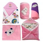 India Desire : Buy My Newborn Baby Fleece Blanket Gift Set, Pink (Pack of 5) at Rs. 386 from Amazon