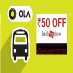India Desire : Ola Bookmyshow Offer: Share Your Ola Rides & Get Rs. 50 Off On BookMyShow
