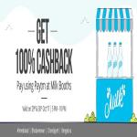 India Desire : Amul Milk Paytm Offer: Get 100% Cashback On Milk Purchase From Amul Outlet