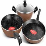 India Desire : Buy Pigeon Essentials Induction Bottom Cookware Set at Rs. 1199 from Flipkart [MRP Rs 3450]
