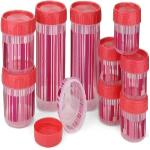 India Desire : Buy Polyset F-Kart Twisty  - 340, 725, 1475 Plastic Multi-purpose Storage Container (Pack Of 10) at Rs. 249 from Flipkart [MRP Rs 599]