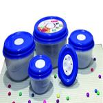 India Desire : Buy Princeware Fresh Ven Bowl Package Container Set, 5-Pieces, Blue at Rs. 191 from Amazon