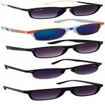 India Desire : Buy Silver Kartz Best Selling Gift Pack of UV 400 Protection Unisex Sunglasses Pack of 5 ||aio5|| at Rs. 199 from Amazon