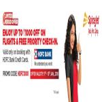 India Desire : Spicejet HDFC Flash Sale: Get Rs 1000 Off on Flight Ticket Booking Via HDFC Bank Credit Card