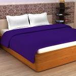 India Desire : Buy Story@Home Super Soft Plain Polar Fleece Double Blanket - Purple at Rs. 141 from Amazon