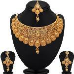 India Desire : Buy Sukkhi Alloy Jewel Set(Gold) at Rs. 160 from Flipkart [Regular Price Rs 223]