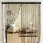India Desire : Buy Super India Threads 2 Piece Polyester String Curtain Set - 7ft, Black at Rs. 197 from Amazon