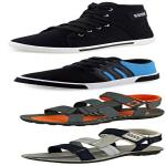 India Desire : Buy Pack Of 3 Sneakers From Rs 373 At Amazon [Upto 80% Off]