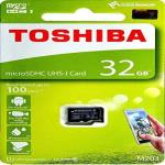 India Desire : Buy Toshiba M203 32GB Class 10 Micro SD Memory Card at Rs. 399 from Amazon [Selling Price Rs 565]