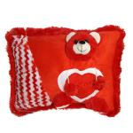 India Desire : Buy Ultra Red Teddy Soft Love Cushion Pillow, Red at Rs. 171 from Amazon