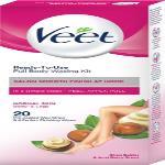India Desire : Buy Veet Full Body Waxing Kit Normal Skin Strips(20 Strips) at Rs. 161 from Flipkart [MRP Rs 190]