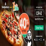India Desire : Flat 40% OFF+ 25% cashback with PayTm wallet On Foodpanda Offer of the Week