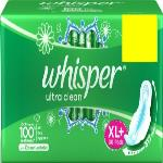 India Desire : Buy Whisper Ultra Clean XL Plus Sanitary Pad(Pack of 30) at Rs. 44 from Flipkart [Regular Price Rs 237]